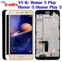 Для huawei Y5 2 ЖК-дисплей Дисплей Сенсорный экран планшета в сборе с рамкой huawei Y5 II ЖК-дисплей CUN-L03 CUN-L23 CUN-L33 CUN-L21 ЖК-дисплей