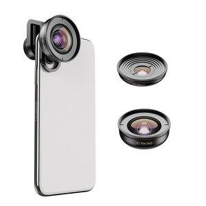 APEXEL 2in1 telefon komórkowy HD obiektyw 10X makro obiektyw 110 stopni 4K szeroki kąt kamery soczewki dla iPhone XR Samsung S10 xiaomi 9 Redmi