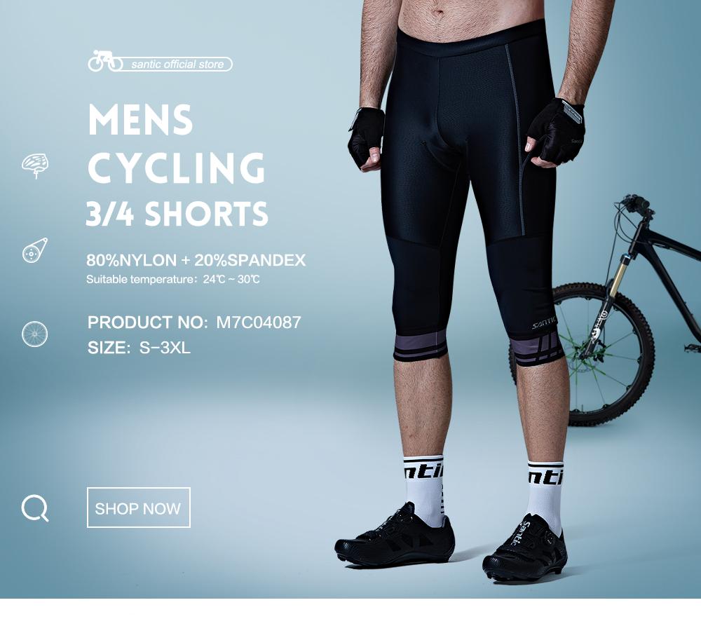 Men/'s Cycling Bib Shorts MountainBike Bib Shorts 4D COOLMAX Pad Bicycle Shorts
