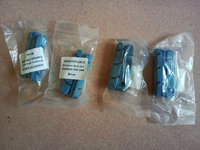 4Pairs Blue Brake Pads Cork Wood Material Replacemet For Carbon Rim Use Only With Shima Campy