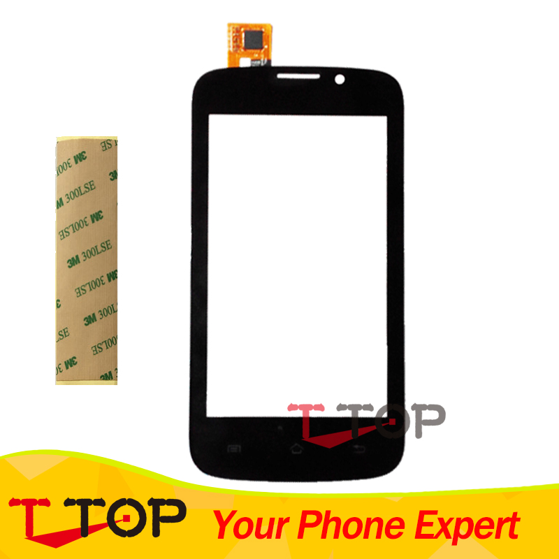 Touch Screen Digitizer For Explay Joy TV Touch Screen Panel Glass Replacement Black Color 1PC/Lot