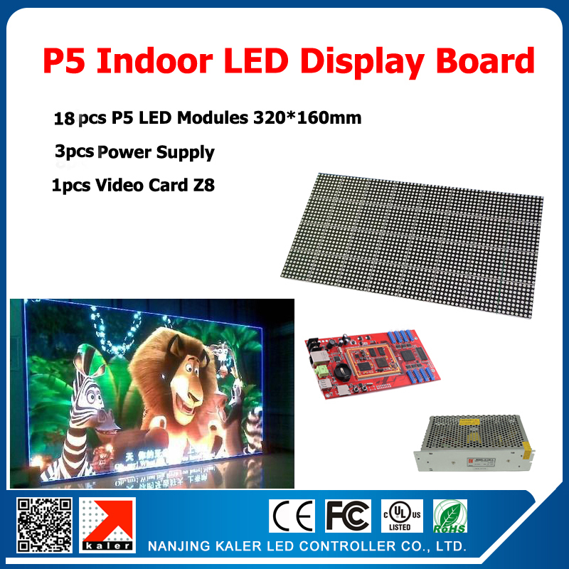 1 Square Meter 18pcs LED Module P5 SMD Indoor LED Display Screen Full Color LED Display Sign Board DIY LED Display Kits1 Square Meter 18pcs LED Module P5 SMD Indoor LED Display Screen Full Color LED Display Sign Board DIY LED Display Kits