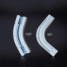 Высокое качество Dooya 90/135 градусов U тип и L тип окна электрический Занавес Рельс шарнирный кронштейн соединитель