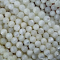 Free Shipping 6 8 10mm 1PC= about 40CM round natural trochus top shell pearl diy earring chain Jewelry beads & Accessories