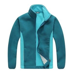 Image 2 - Windproof ילד מעיל בנים ובנות מעילי רך קוטב צמר חם ילדי הלבשה עליונה בגדי עבור 3 12 שנים