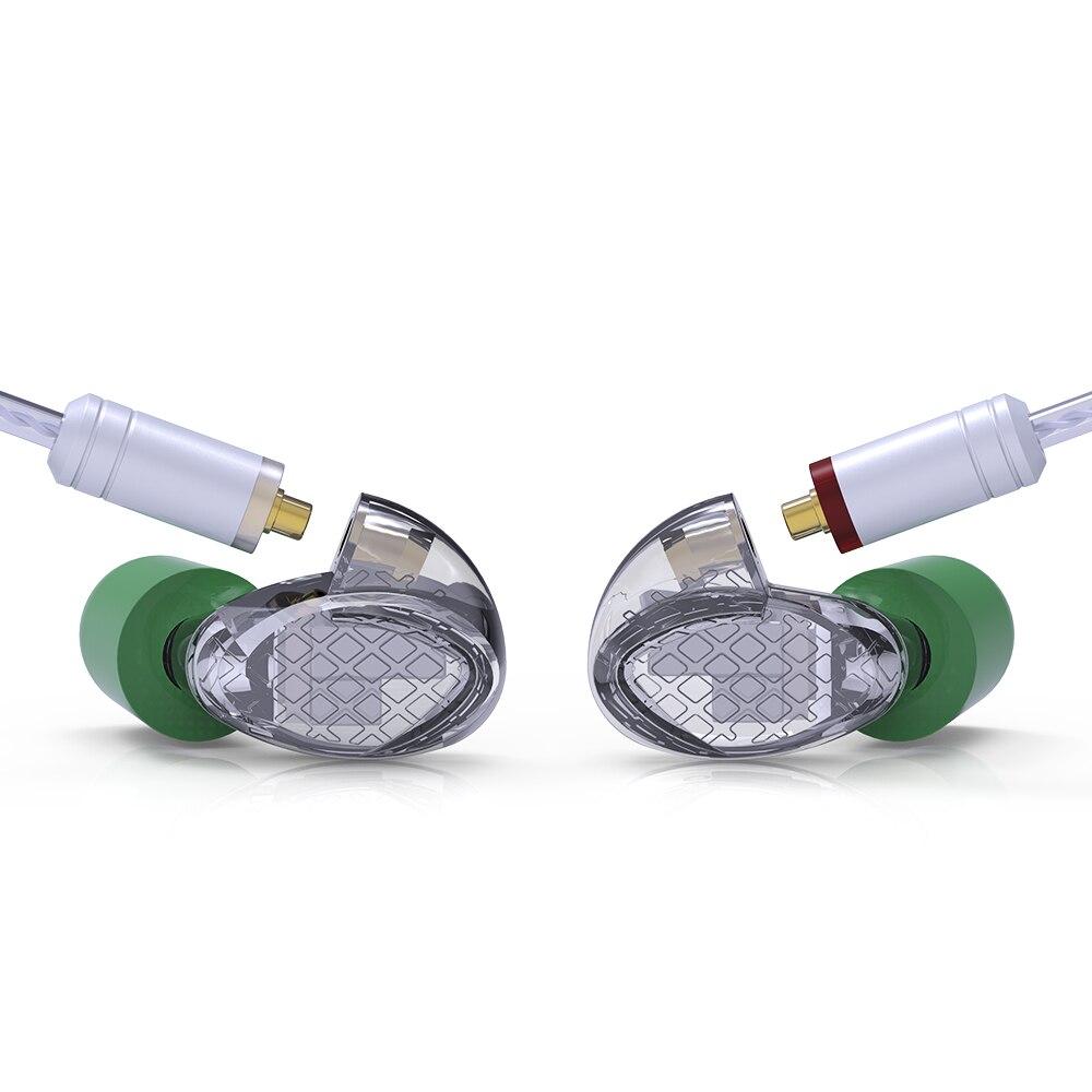 Image 2 - AK YINYOO T500 5BA Balanced Armature In Ear Earphone HIFI Monitoring Earphone Detachable MMCX Cable DJ Sport Earbud Headplug-in Earphones from Consumer Electronics