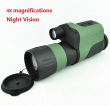 Cheap price Recommend Night vision scope 4×50 Infrared IR Night Vision Monocular for Hunting NV Telescope Max. Rang 250m 4X magnificatio