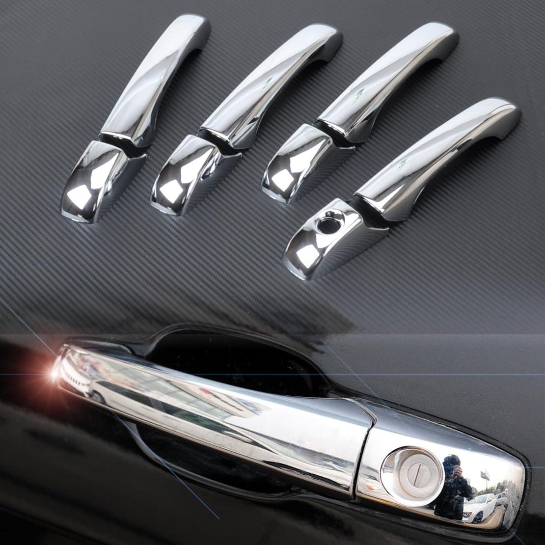 DWCX Car Chrome Door Handle Cover Trim For Chrysler 200