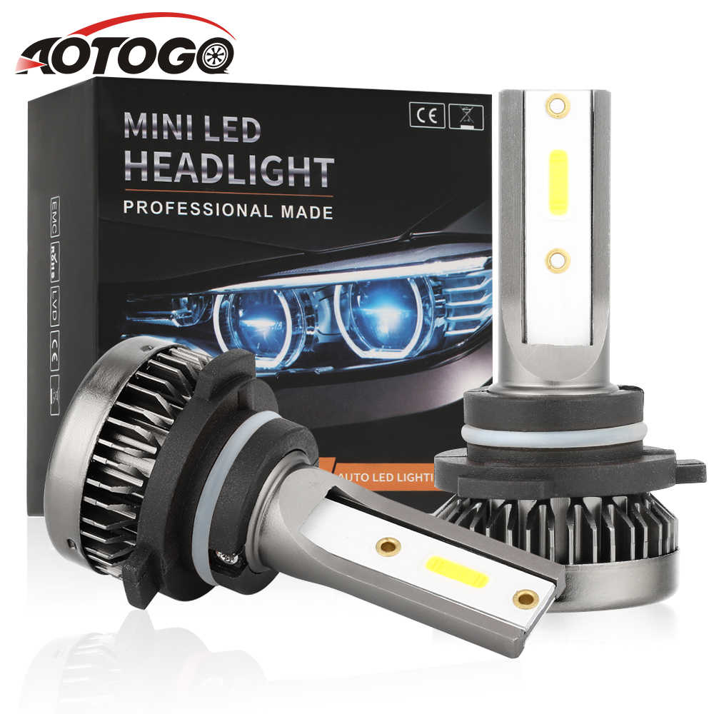 2PCS Car Headlight Mini Lamp H7 LED Bulbs H1 LED H8 H11 Headlamps Kit 9005 HB3 9006 HB4 6000k Fog light 12V LED Lamp 80W 8000LM