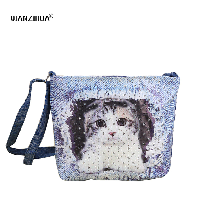 84fb7d5cac66 Cartoon Kids Children Mini Shoulder Bags Canvas Animals Girls Messenger  Bags Clutch Crossbody Bag for kindergarten baby Gifts