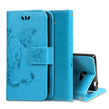 For Sony XPERIA M2 Aqua D2403 Cases Butterfly Pattern Wallet PU Leather Phone Case For Sony XPERIA M2/ M2 Aqua D2406 Phone Cover
