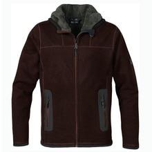 Burrima мужская верхняя одежда Водонепроницаемые куртки карманы пальто с капюшоном Softshell