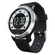 F69 Sprots Smart Watch IP68 Fitness Tracker Heart Rate Monitor Waterproof Swimming Monitor for IOS Android Phones Bluetooth V4.0