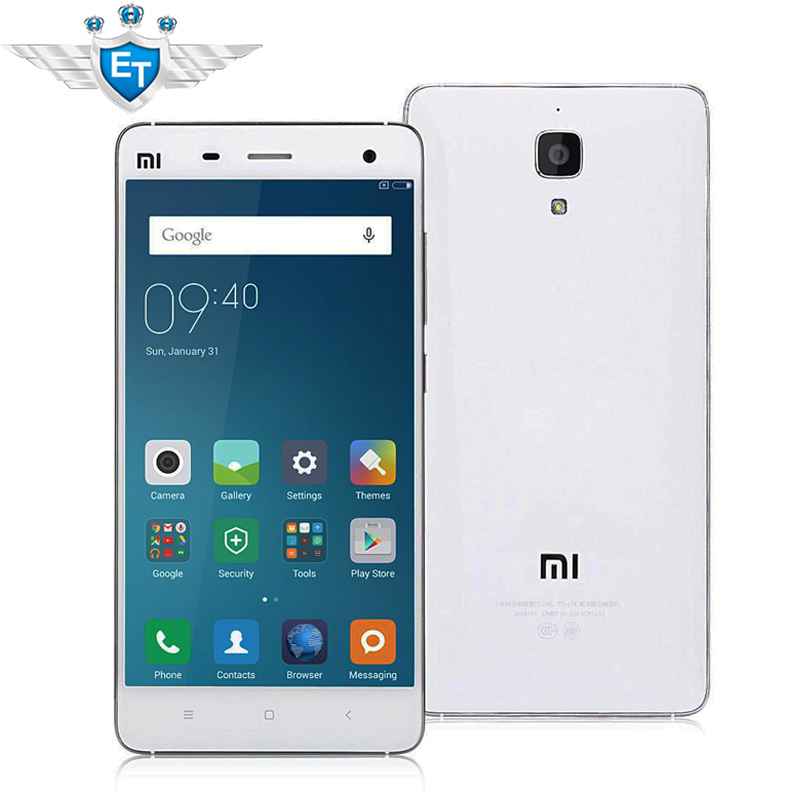 "Original 5"" Xiaomi Mi4 4G LTE Cell Phone Snapdragon 801"