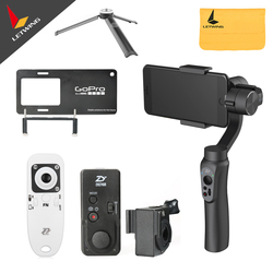 Zhiyun Tech Smooth Q 3-Axis Handheld Stabilizer Gimbal for Smart Phone like Iphone 7 6 Plus for Gopro 3 4 5 for Samsung S7 S6