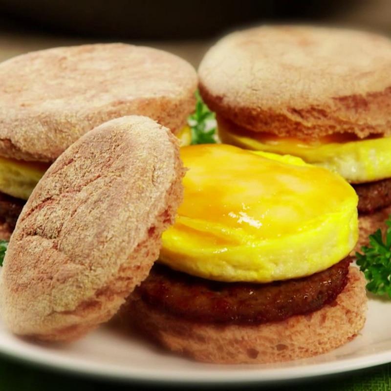Perfect Pancake maker Ei Käse Brot Backformen 7 Cavity Antihaft - Küche, Essen und Bar - Foto 4