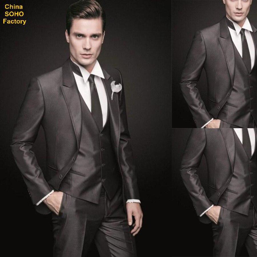 Brown Wedding Tuxedos for Men
