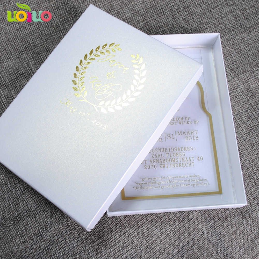 Nuevo Diseño De Acrílico Tarjeta Cristiana Tarjeta De Invitación De Boda India Barata Tarjeta De Invitación Precio
