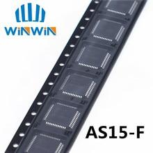 شحن مجاني 50 قطعة AS15 F AS15F AS15 G AS15G QFP48 AS15 الأصلي LCD رقاقة E CMOS