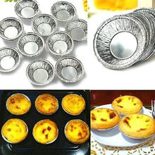 Disposable Aluminum Foil Baking Cups Egg Tart Pan Cupcake Case ~250PCs~