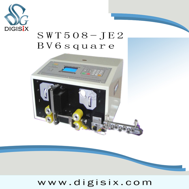 Special SWT 508JE2 automatic computer wire stripping machine ...