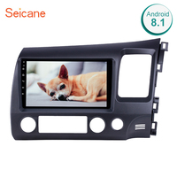 Seicane Android 8.1 9 Car Multimedia player For Honda Civic 2006 2007 2008 2009 2010 2011 2din GPS Navigation support AUX USB