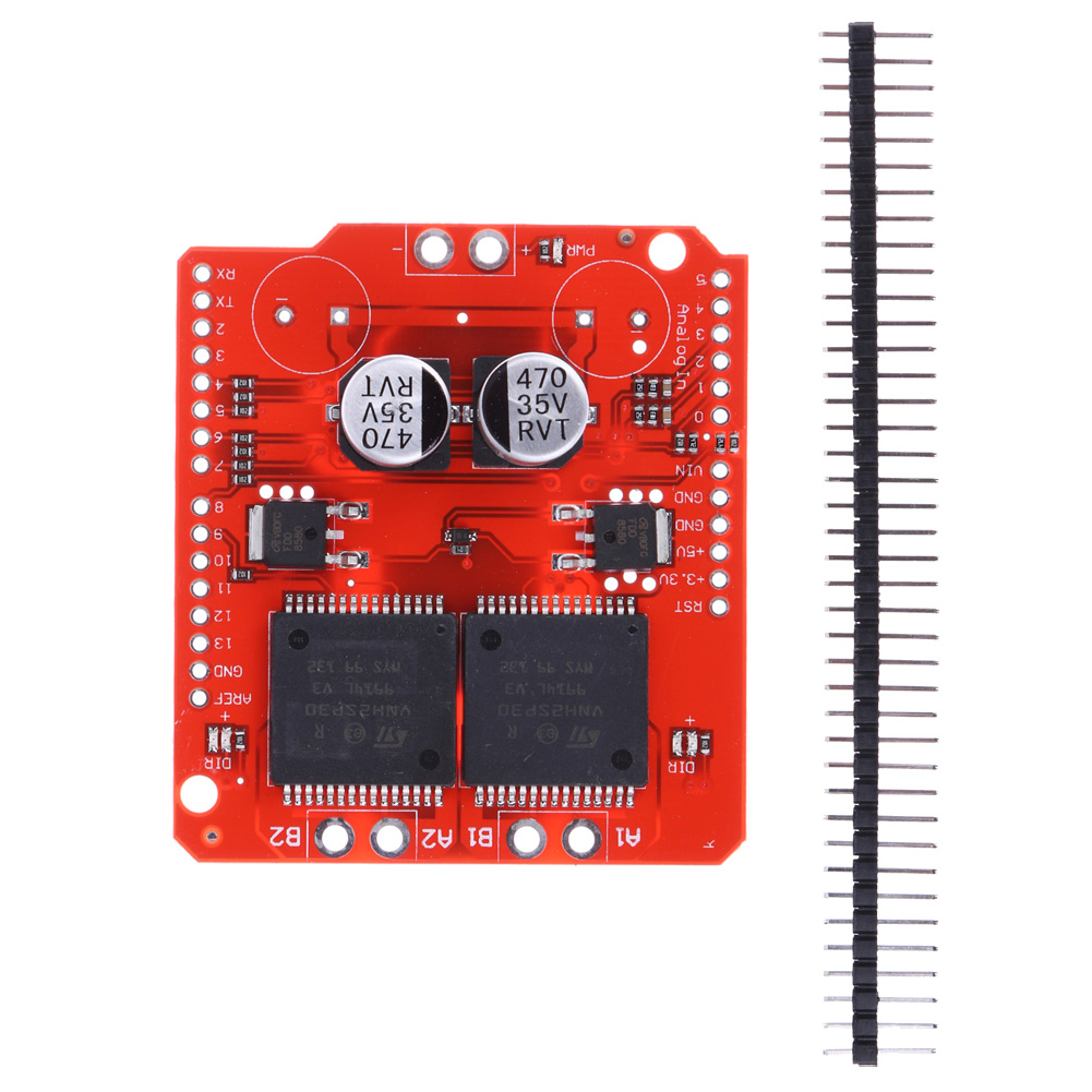 16v 30a Dual Vnh2sp30 Stepper Motor Driver Module Monster Moto L298 H Bridge Diagram Also With Shield Replace In Network Hubs From Computer Office On