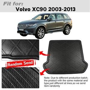 Image 2 - XC90 Buildreamen2 Para Volvo 2003 2013 Mala Do Carro Bagagem Pad Traseiro Tronco Bandeja Liner Carga Mat Piso de Proteção Do Tapete pad