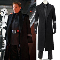 2016 Star Wars Costume General Hux Cosplay Costume Halloween Party Costumes Movie Outfit Whole Set Uniform