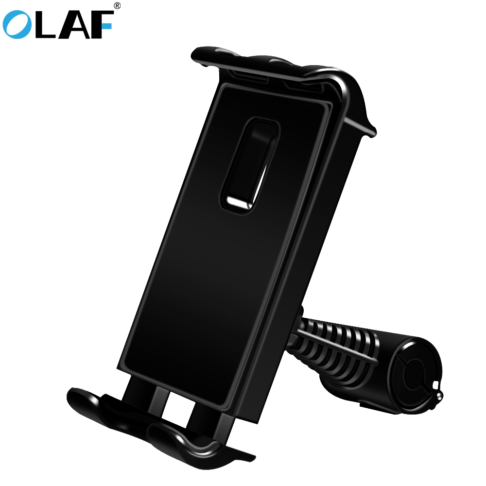 Olaf Back Seat Mobile Phone Holder Stand Car Rear Seat Phone Bracket Backseat Mount Car Holder For iPhone 7 8 X iPad Samsung S8