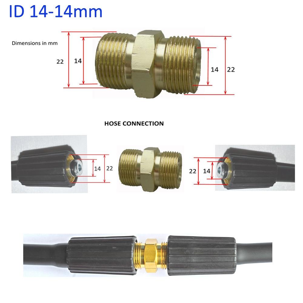 32ft alta pressão arruela mangueira cabo tubo