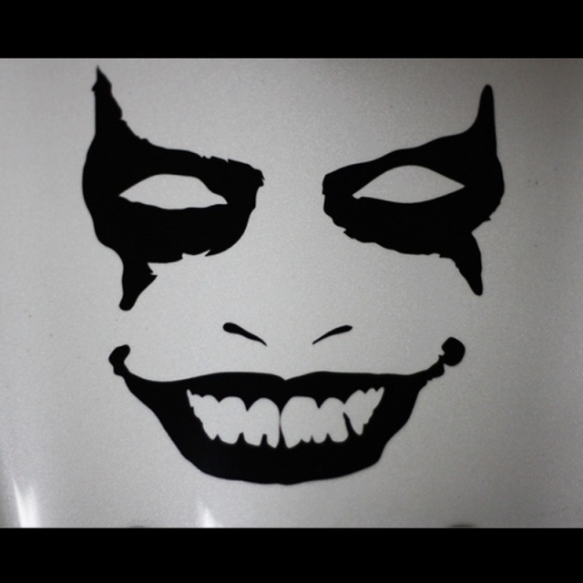 Aliexpresscom  Buy Clown FACE JDM HELLAFLUSH Vinyl Car Funny - Funny decal stickers for cars