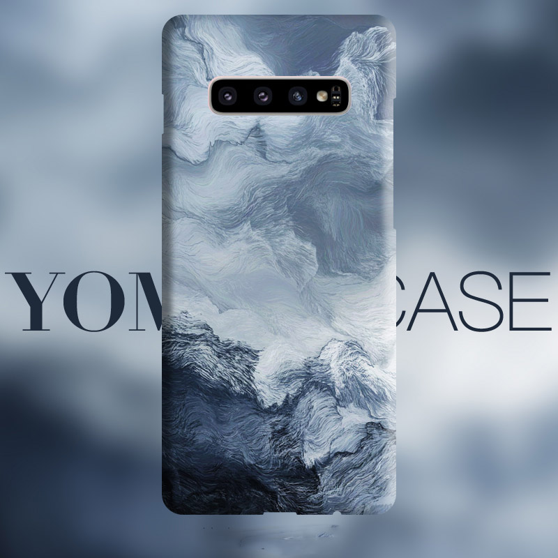 Abstract Wave Sea Art Flows Case For Samsung Galaxy S20 Plus S20 Ultra S10 Plus S10lite S10E , Note 9 Cover Case Skin Texture