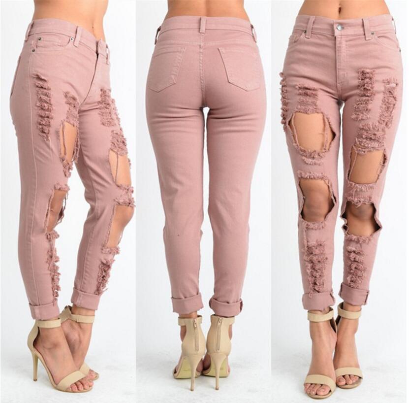 Atractivo Los Pantalones Vaqueros De Moda Para Fiestas Molde - Ideas ...