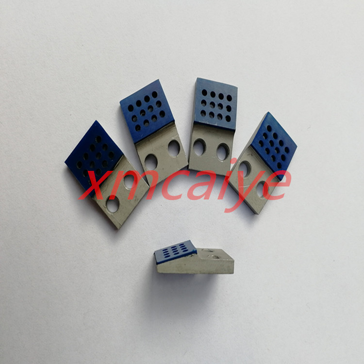 60 pcs high quality 010W164513 gripper pad Roland 700 Printer machines Spare Parts Length:21mm  Width:13mm
