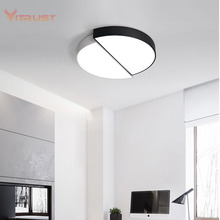 Simple Creative Ceiling Light Modern Simple Living Room Ceiling Lights Ultra-thin LED Ceiling Lamp AC110-240V smart modern simple ultra thin 5cm led ceiling lamp living room ceiling lights remote controller dimmer