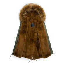 2016 новый меха куртка на подкладке пальто, высокое качество зимняя куртка мужчины меха куртка