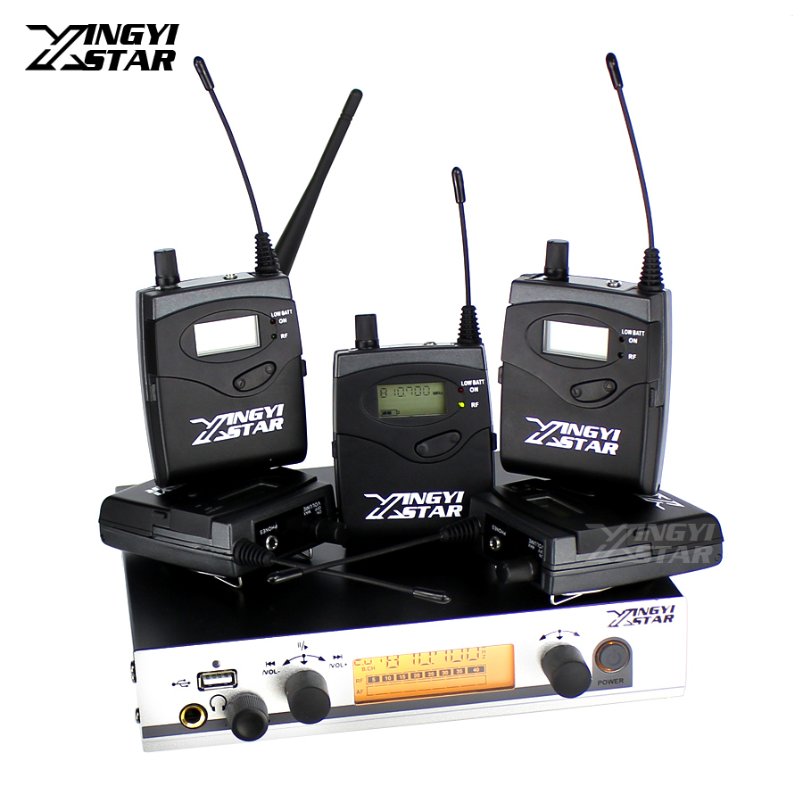 EW 300 G3 Wireless In Ear Monitor Professional Stage Monitoring System 5 Bodypack Receiver USB Transmitter Monitors in Earphone ew300 iemg3 in ear monitor wireless system with usb function quality ew100 iem g3 g3 iem ek 300 monitoring with in earphone