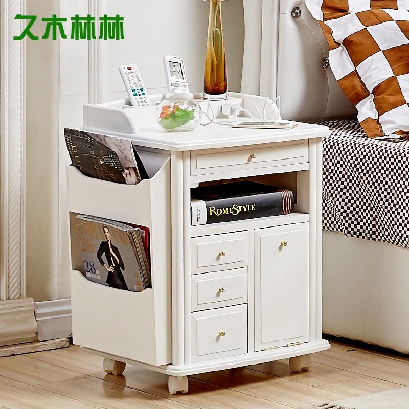 Aliexpress.com : Buy Paulownia wood simple bedside lockers