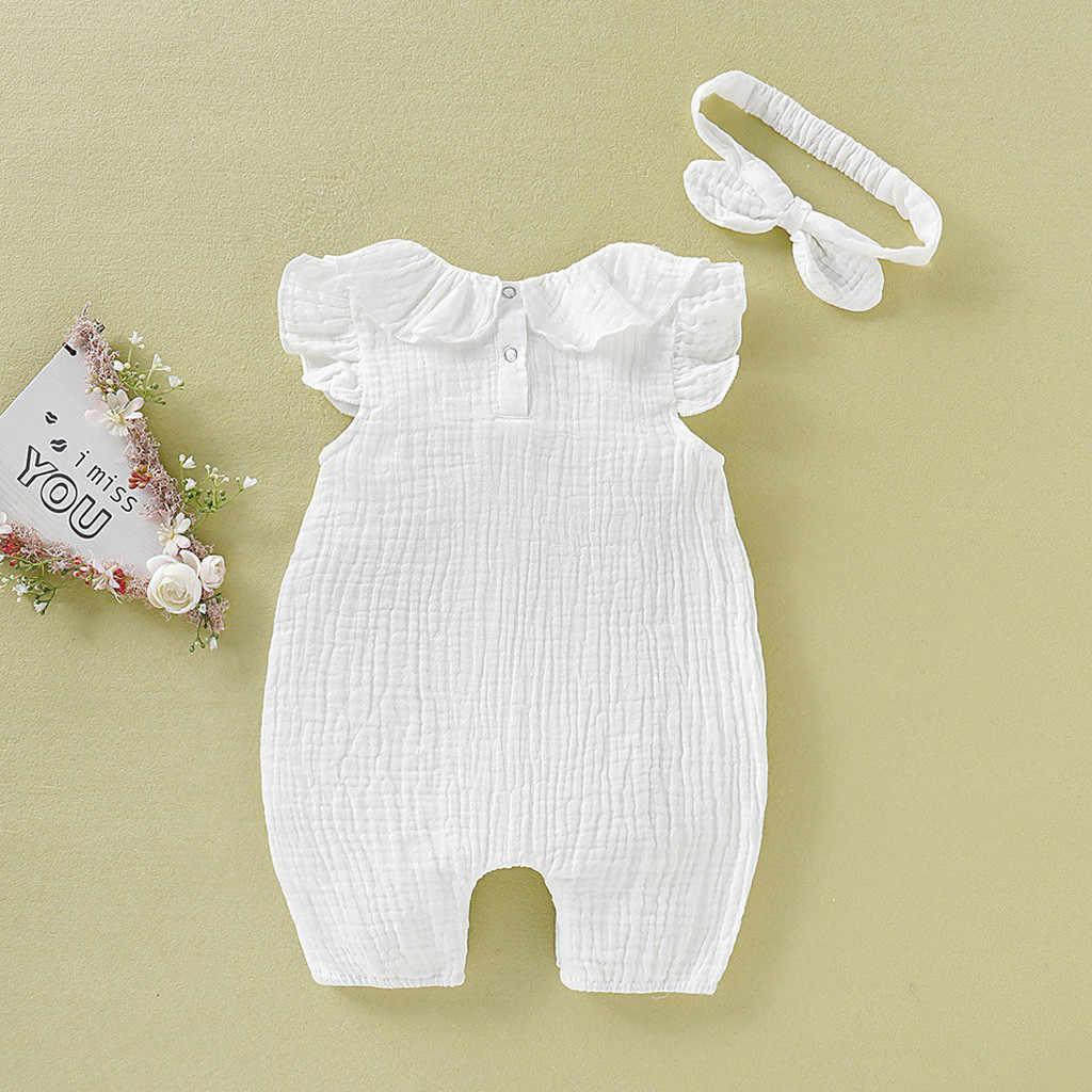 Calça Menino Bebê menina recém-nascida minha 1st Ano Novo Roupas Macacão Tiara conjuntos de roupas