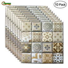 1/10pcs DIY Self Adhesive 3D Wall Stickers Bedroom Decor 30x30cm PVC Brick Room Wallpapers Living