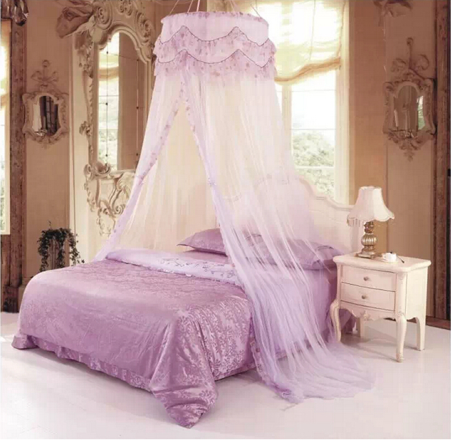 Princess Hight QC Round Dome Bed Canopy Netting Mosquito Net Double King Size-in Mosquito Net from Home u0026 Garden on Aliexpress.com | Alibaba Group : canopy nets for beds - memphite.com