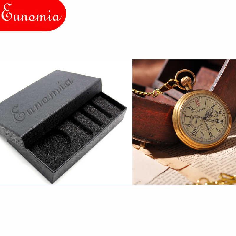 Королевский Лондон механические роскошные золотые мужские ручные карманные часы с цепочкой для ключей ожерелье костюмы подарок крутые римские цифры часы