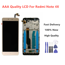 High Quality LCD+Frame For Xiaomi Redmi Note 4X LCD Display Screen 4 Global Version Only Snapdragon 625