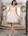 Don's Bridal Cocktail Dresses 2016 Sexy Sweetheart Neck Organza Mini A Line Party Dress Vestido De Festa Curto