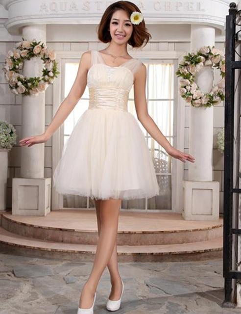 Don's Bridal Cocktail Dresses 2016 Sexy Sweetheart Neck Organza Mini A Line Party Dress Vestido De Festa Curto