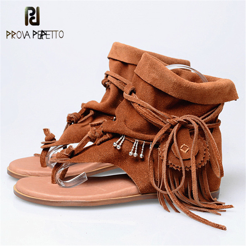 Prova Perfetto 2018 Euramerican Spring Summer Comfortable Fashion Woman Sandals Flat Slip-on Wedge Shoes Cow Suede Leather ShoesProva Perfetto 2018 Euramerican Spring Summer Comfortable Fashion Woman Sandals Flat Slip-on Wedge Shoes Cow Suede Leather Shoes