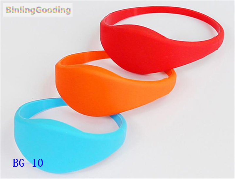 Access Control Cards Bg-10 100pcs/lot 125khz Em4305 Rfid Wristband Bracelet Rewritable Id Card For Swimming Pool Sauna Room Gym