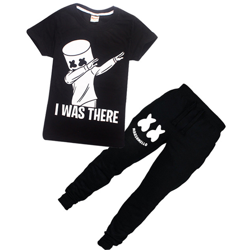 dj marshmello boys girls clothes christmas outfit girl set kids clothing battle royal kids. Black Bedroom Furniture Sets. Home Design Ideas