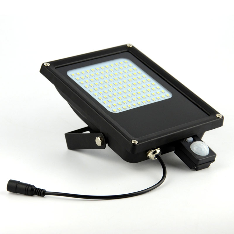 High Quality Ruocin Solar Lamps 120 LED Motion Sensor Garden Light Outdoor Solar Powered Light Floodlight